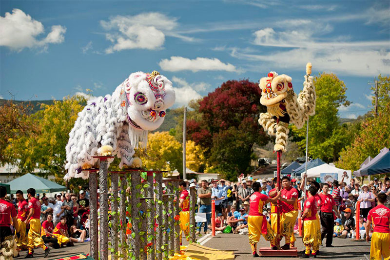 Chinese festival in Nundle