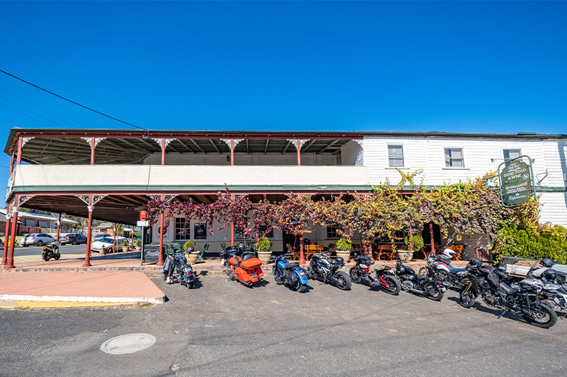 The Peel Inn Hotel exterior